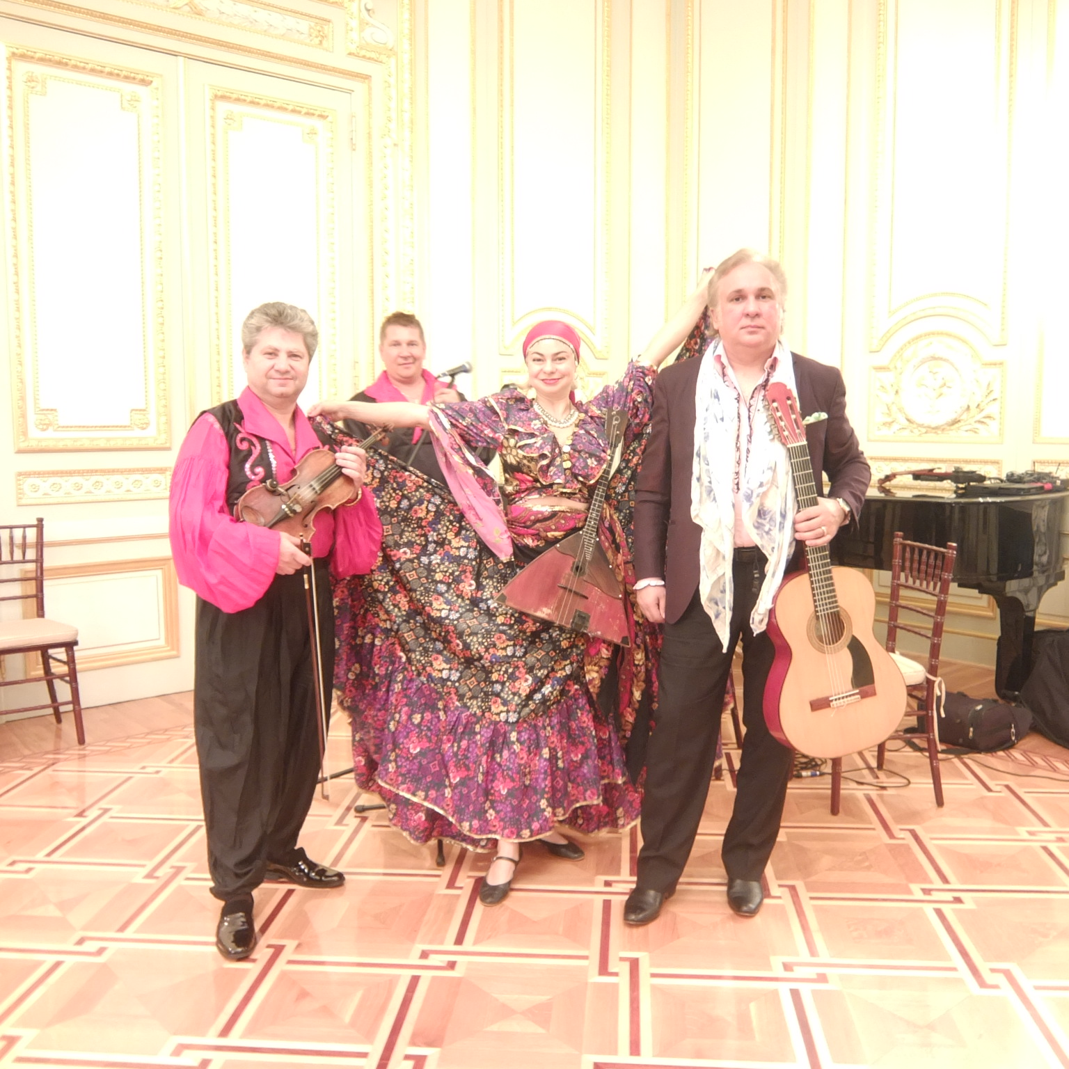 Gypsy song and music ensemble