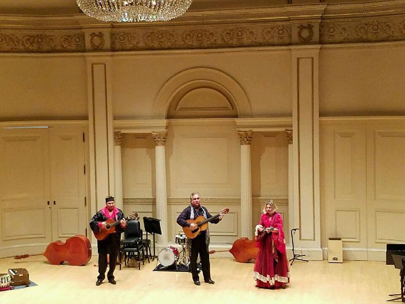 Moscow Gypsy Army, Vasily Yankovich-Romani, Elina Karokhina, Mikhail Smirnov, Carnegie Hall, NYC, New York City