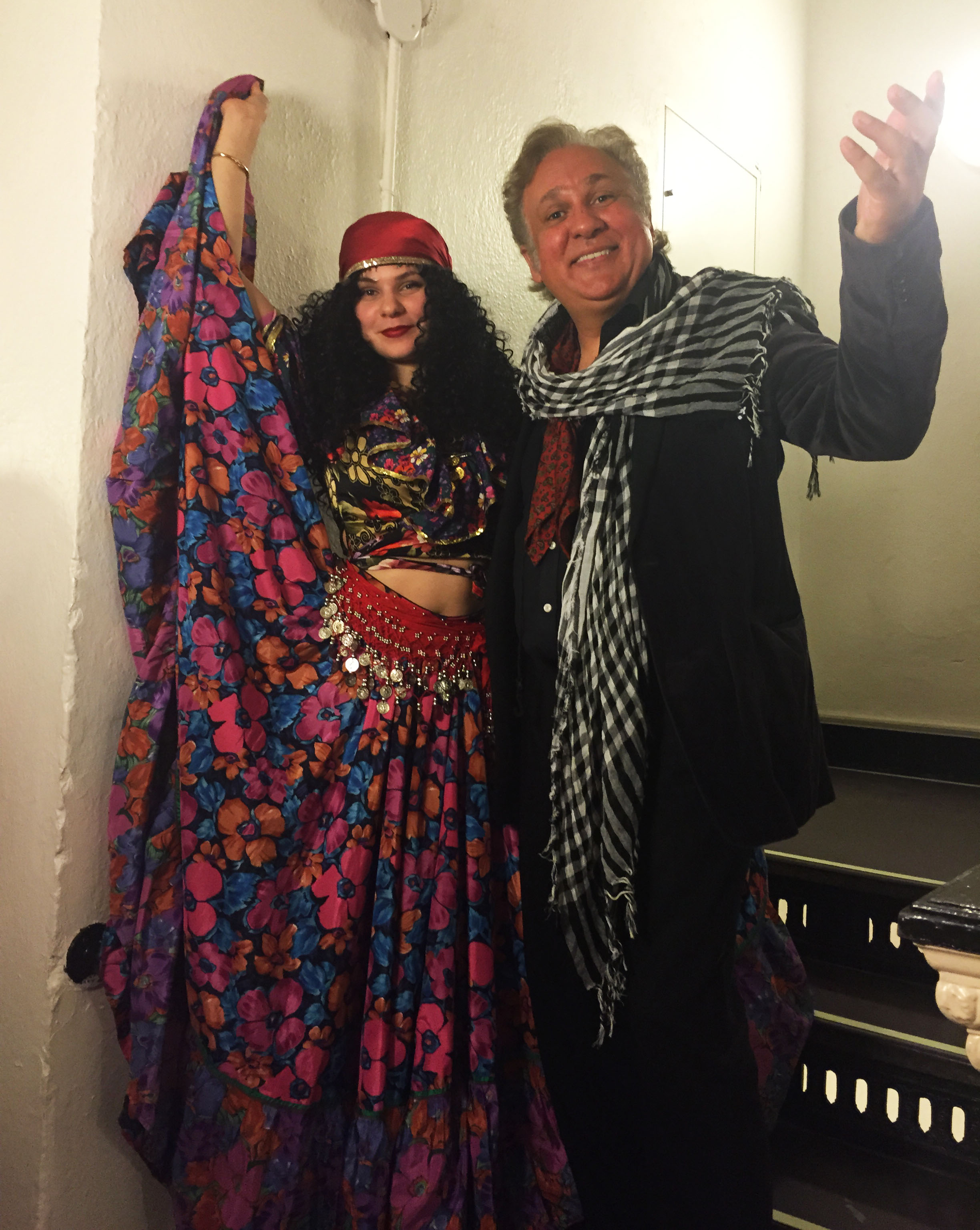 Moscow Gypsy Army, dancer Alisa Egorova, Vasily Yankovich-Romani, Carnegie Hall, New York City